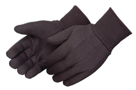 9-oz Brown Jersey Gloves