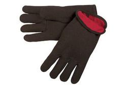 Open Cuff Heavy Weight Brown Jersey Glove