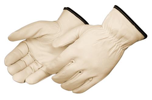 Sold by Dozen Unlined Pigskin Driver Leather Work Gloves
