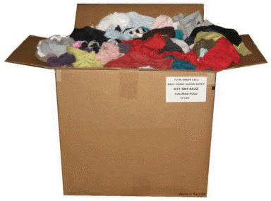 cotton polo wiping rags archives east coast glove supply inc - Box Of Rags