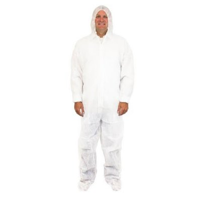 Safety Zone 174 Polypropylene Protective Coverall Suit W